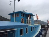 A thought provoking day out on the Little Blue Trawler