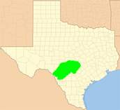 Where Hill Country is located.