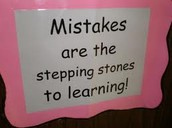 Admit Mistakes and Correct Them