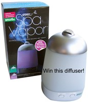 I'm giving away this diffuser!