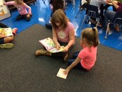 Reading with our Buddies!