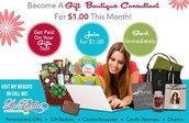♥♥ Gift Boutique Consultant needed- will train PT/FT