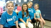Kindergarten Wearing Blue!!