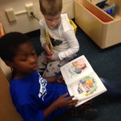 Enjoying books together