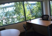 Gorgeous, fully furnished office with beautiful views from your desk!