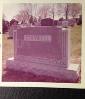His tombstone
