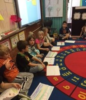 Sharing our writing.