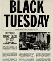 Black Tuesday News Headline