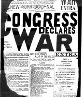 US declare war against Mexico 1846