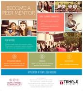Peer Mentor Recruitment!
