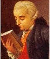 Cesare Beccaria che legge un libro.