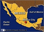 Where is Mexico City located?
