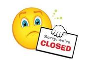 Program Holiday Closing - NEW