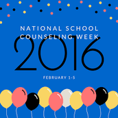 National School Counseling Week; Feb. 1st-5th