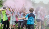 Buckingham iRun4Life Color Run