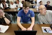 Cyber Seniors - Internet Skills