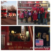 Riding to School on a Fire Truck