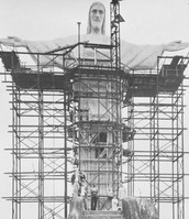 Christ the Redeemer during Construction