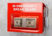 Save $500 in emergency fund