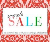 V.I.P Sample Sale
