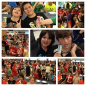 STAAR Rally - Getting FIRED  Up For Success!