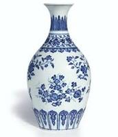 Ancient Ming Dynasty Ceramic Vase