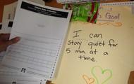 Mrs. Doerhoff's Conscious Discipline Goal-tracking folder!