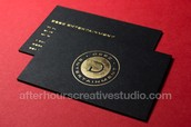 Collections of different styles Luxury Business Cards