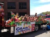 5th Grade Float