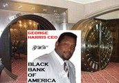 GEORGE HARRIS CEO & FOUNDER OF BLACK BANK OF AMERICA.COM