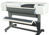 "HP DESIGNJET 500 42"" LARGE FORMAT PLOTTER"