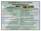 Interested in Sustainable Food?