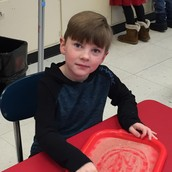 Tracing letters and shapes!