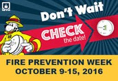 Fire Safety Visits -- This Friday!