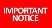 Saturday tutoring will not be held during Spring Break!