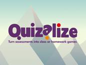 An online multiple choice quiz.