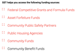 Possible Funding Options