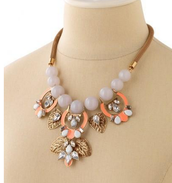 SOLD Riviera Statement Necklace