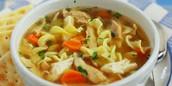 Chicken noodle soupe