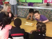Sight word fun with Mrs. Wright.