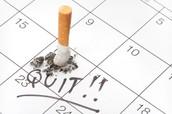 Determine una fecha para dejar de fumar