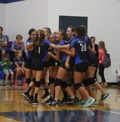 8th grade Wins again!