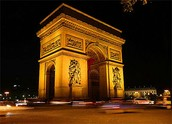 Arc de Triomphe á noir