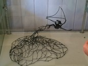 wire scultpure