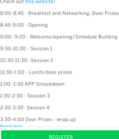 EdCamp schedule