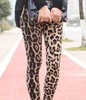 Legging  print leopardo Ref. 0161