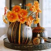 Daisy Halloween Vase