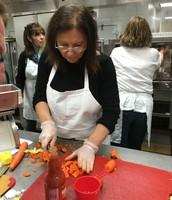 Mary Kowitz from Five Hawks prepares a new stir fry recipe