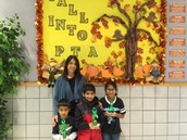 Congratulations to the PTA Recycling Winners!