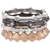 Katelyn Mixed Band Ring